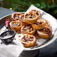 Clementine & walnut mince pies recipe | Waitrose
