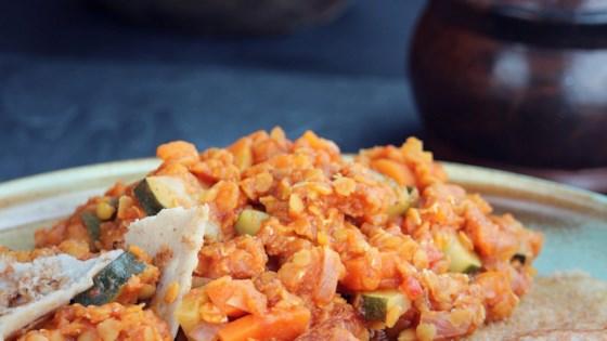Red Lentils with Veggies Recipe