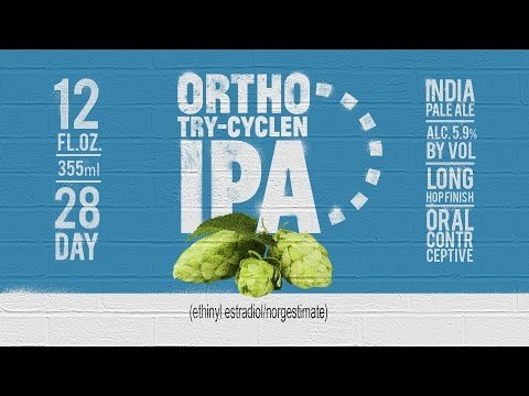 This Birth Control Beer Ad Highlights the CDC's Weird New Alcohol Guidelines