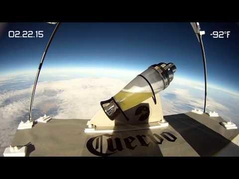 Cuervo Made a Margarita in Space