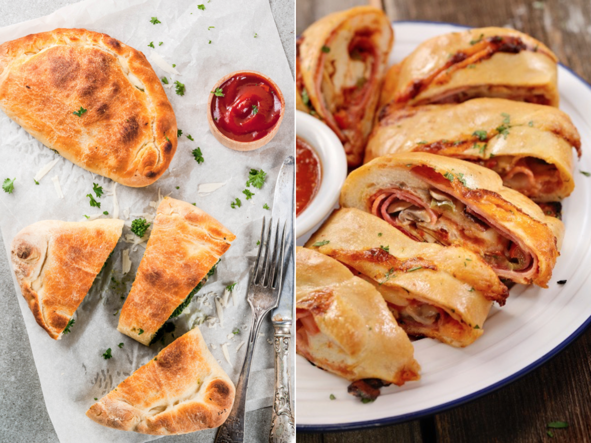 What's the Difference Between a Calzone and a Stromboli?