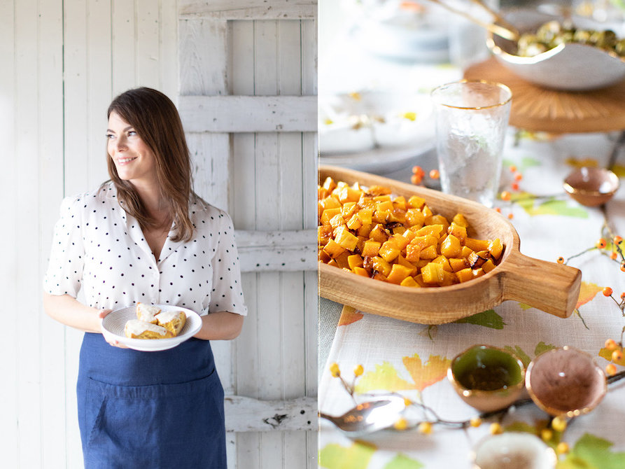 Here's How Gail Simmons Would Style a Holiday Table
