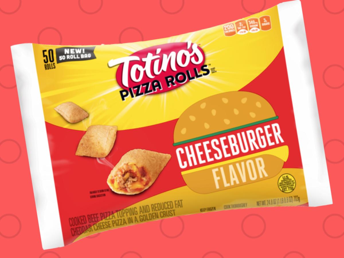PSA: Totino's Has New Cheeseburger Pizza Rolls