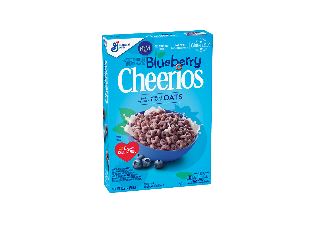 Blueberry Cheerios Have Arrived and They're Here to Stay