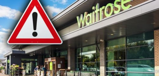 Waitrose unveil food recall over safety fears – warning as product may contain glass