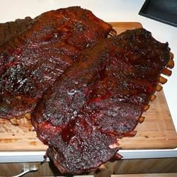 Not Your Every Day Smoked Pork Spare Ribs Recipe