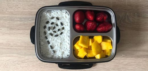 Rice Pudding with Fruits and Berries