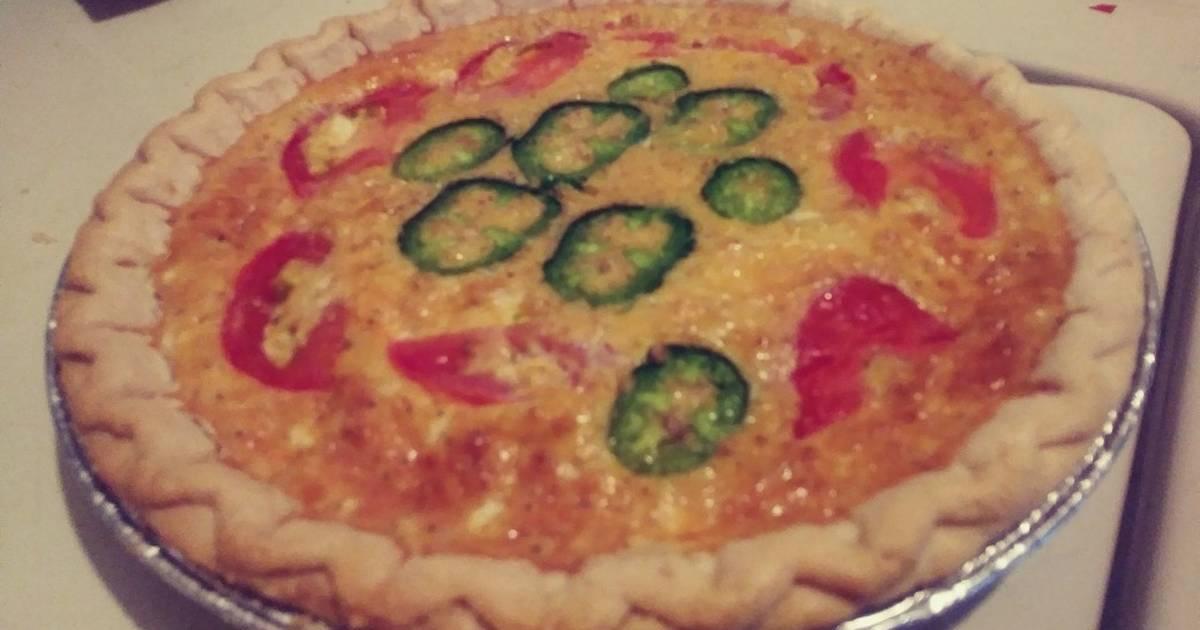 Spicy Cheese Quiche