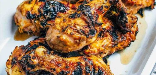 Grilled Chicken with South Carolina-Style BBQ Sauce