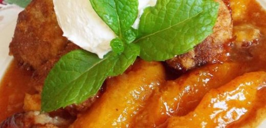 Fresh Southern Peach Cobbler Recipe