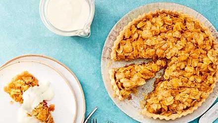 Easy cornflake tart