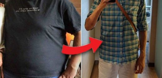 Weight loss: Man reveals 15 stone weight loss with this diet plan – what did he eat?