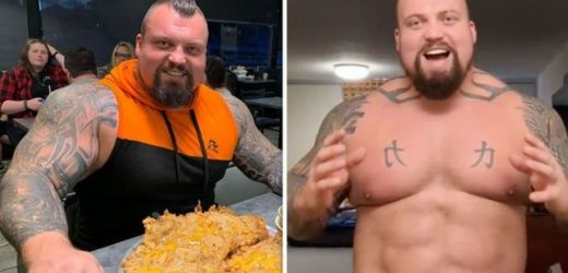 Eddie Hall diet: Strongman reveals his 'disgusting' cheat meal – 'about 4,000 calories'