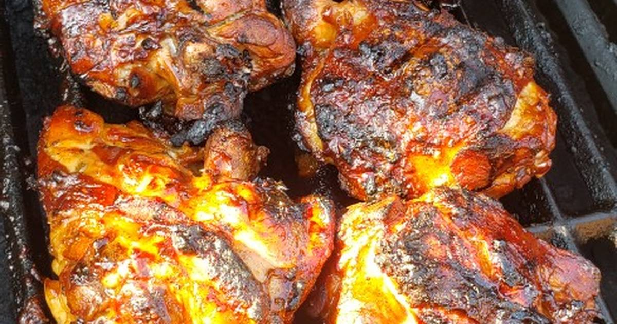 Simple Delicious BBQ Chicken Marinade