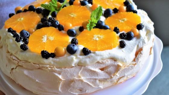 Orange-Berry Pavlova Recipe