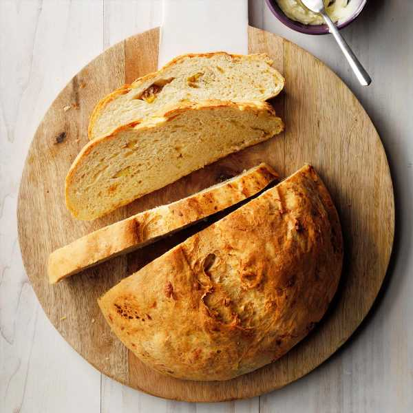Gouda and Roasted Potato Bread