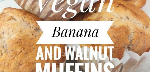 Vegan Banana and Walnut Muffins?