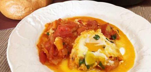 Poached Egg Shakshuka