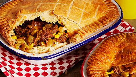 Philly cheesesteak pies