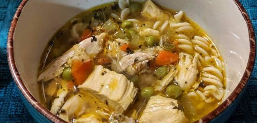 Gluten and Dairy Free Chicken Noodle Soup