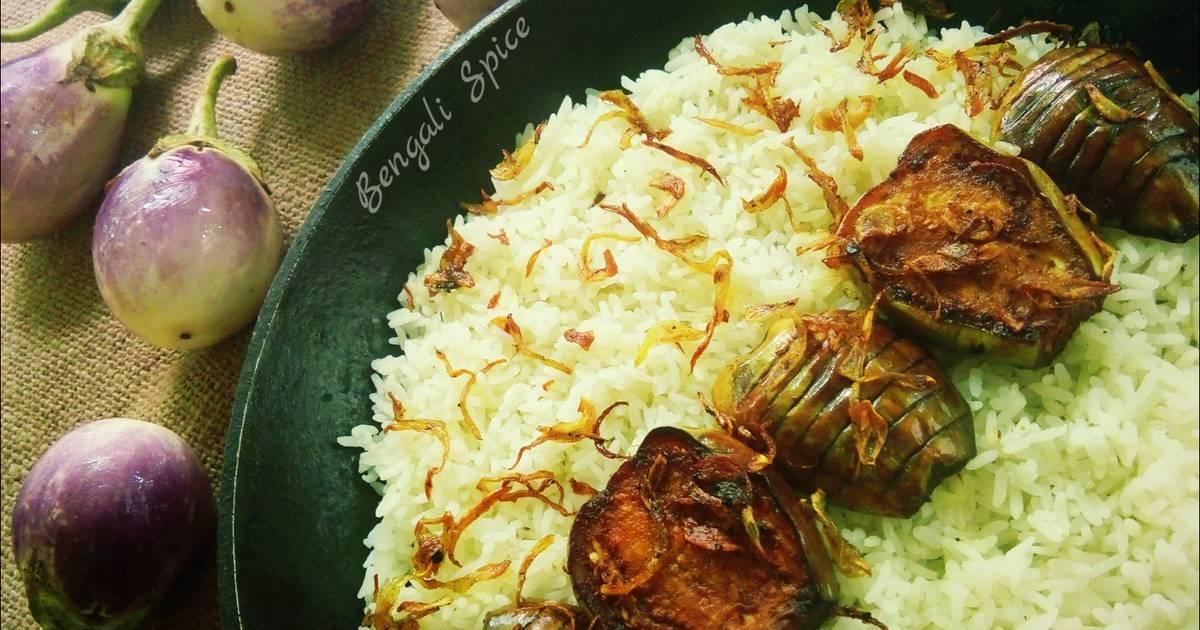 Bangladeshi Begun Bhaja/ Fried Eggplant/ Fried Brinjal Recipe ?