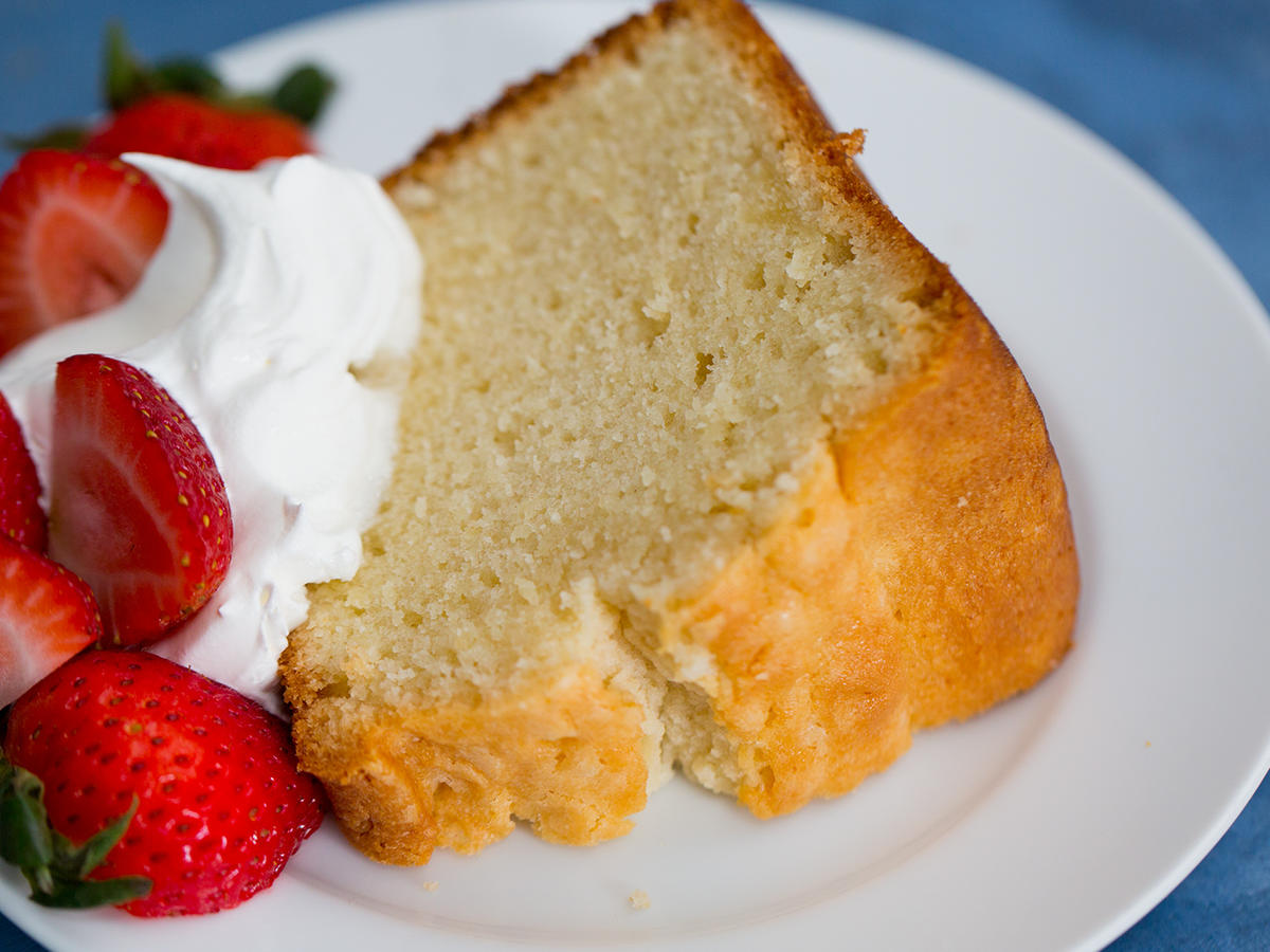 Why Is Pound Cake Called Pound Cake?