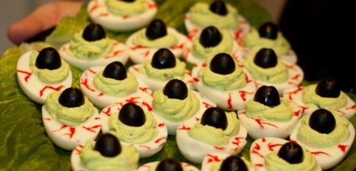 Halloween Eye of Newt Recipe