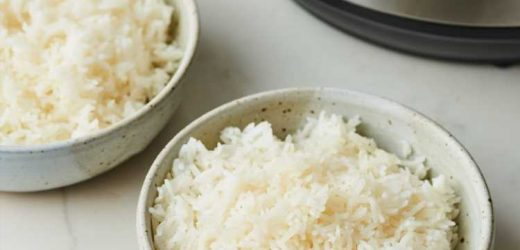 How To Cook Rice in the Instant Pot