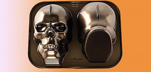 These Halloween Cake Pans Are So Cool It's Scary—and They're on Sale