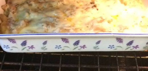 Tuna bake serves 5