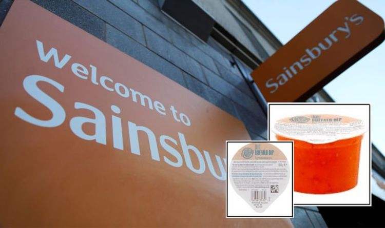 Sainsbury's urgent food recall after discovery of undeclared allergens