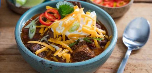 Pressure Cooker Chunky Beef and Bean Chili Recipe