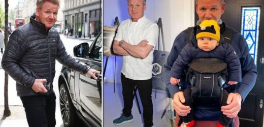 Gordon Ramsay four stone weight loss secrets revealed ahead of Christmas special with Gino