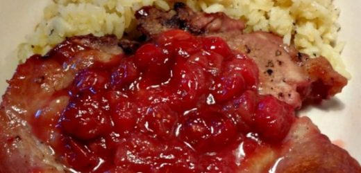 Cranberry Pork Chops II Recipe