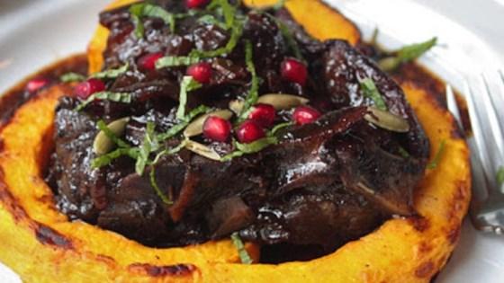 Lamb Braised in Pomegranate Recipe