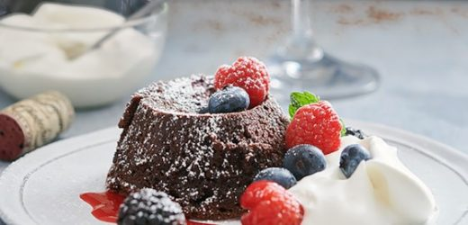 Flourless Chocolate Lava Cake Recipe