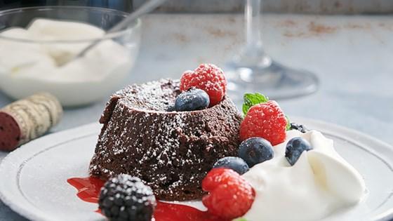 Flourless Chocolate Lava Cake Recipe