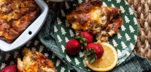 Christmas Breakfast Sausage Casserole Recipe