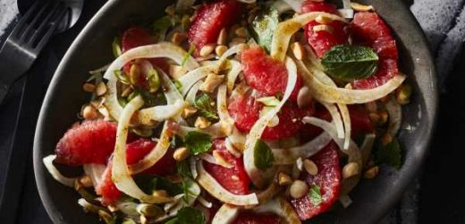 Fennel and Grapefruit Salad with Baharat