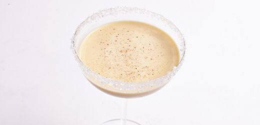 Eggnog Cocktail