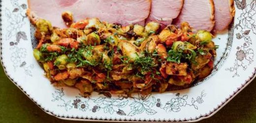 Bubble and Squeak With Stilton