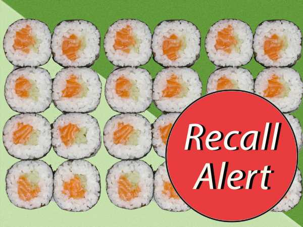 Sushi, Salads and More Recalled at Trader Joe's, Walgreens and Others for Possible Listeria Contamination