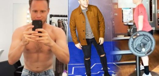 Olly Murs weight loss: Singer lost over a stone and belly fat for toned abs in 12 weeks