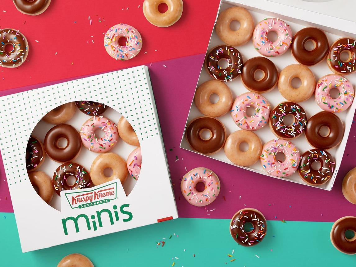 Krispy Kreme Is Launching Mini Versions of Their Best Doughnuts