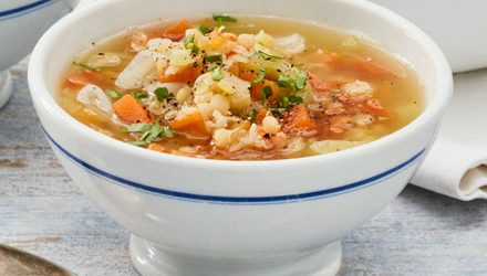 Easy soup maker lentil soup