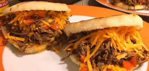 Arepas With Beef Brisket