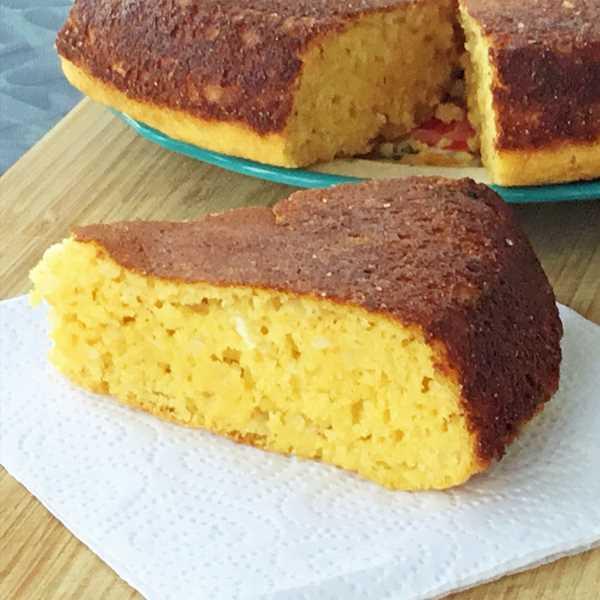 Hushpuppy Skillet Cornbread With Whole Wheat Flour