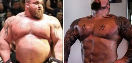 Eddie Hall weight loss: How strongman lost 9kgs in 17 days with two simple home workouts