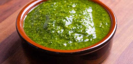 Fennel Frond Pesto With Lemon and Anchovies Recipe