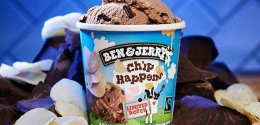 Ben & Jerry's Is Getting Sweet and Salty With Their New Chip Happens Flavor